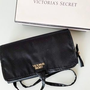 Victoria's Secret Satin Jewelry Travel Bag